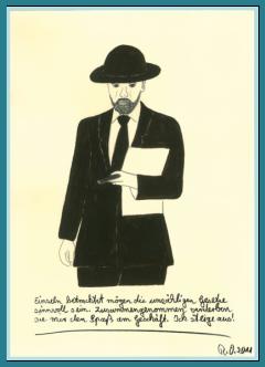 Die Bürokratie, Politik, Bilder mit Sprüchen von Rainer Ostendorf, Freidenker Galerie