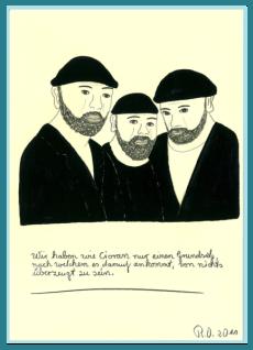 Skeptiker und Zweifler, Bilder mit philosophischen Sprüchen, Freidenker Galerie