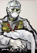 Joseph Beuys, moderne Kunst, Porträt von Nikolaus Pessler