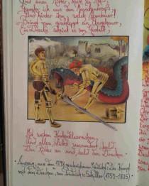 """Der Drache, Bleistiftzeichnung von Sebastian Misseling, Bildersammlung """"Fabelwesen"""""""
