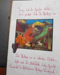"""Der Bahkauv, Bleistiftzeichnung von Sebastian Misseling, Bildersammlung """"Fabelwesen"""""""