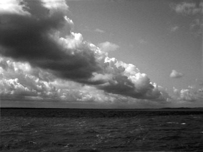 Wolken über der Nordsee, Foto von Dr. Axel Schlote
