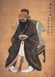 Glücklich werden, glücklich sein - Bild von Konfuzius, weise Sprüche