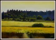Sommer am Bodensee, Ölbild von Peter Zahrt, Freidenker Galerie