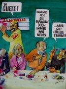 Comics von Peter Zahrt, Freidenker Galerie, Bilder mit Sprüchen