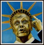 Guido Westerwelle, Karikatur Bilder Politiker, Peter Zahrt