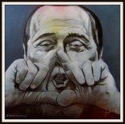 Silvio Berlusconi, Karikatur Bilder Politiker, Peter Zahrt