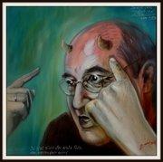 Gregor Gysi, Karikatur Bilder Politiker, Peter Zahrt