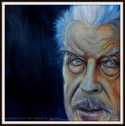 der Österreicher, der jahrelang seine Tochter im Keller hatte..., Ölbild von Peter Zahrt