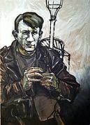 Picasso, moderne Kunst, Porträt von Nikolaus Pessler