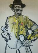 Adolf Hitler Porträt von Nikolaus Pessler