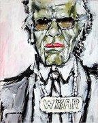 Karl Lagerfeld Porträt von Nikolaus Pessler