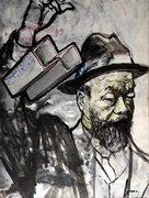 Aiweiwei, moderne Kunst, Porträt von Nikolaus Pessler