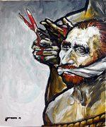 van Gogh, moderne Kunst, Porträt von Nikolaus Pessler