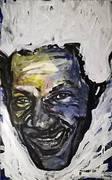 Chuck Berry Portrait von Nikolaus Pessler, Freidenker Galerie