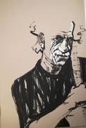 Keith Richards Portrait von Nikolaus Pessler, Freidenker Galerie