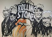 Rolling Stones Portrait von Nikolaus Pessler, Freidenker Galerie