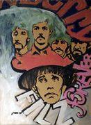 Beatles Porträt von Nikolaus Pessler Freidenker Galerie